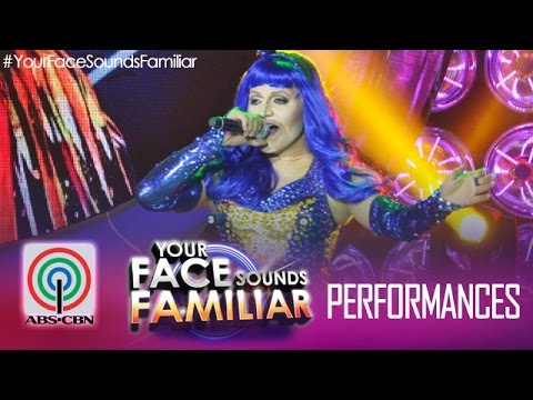 Your Face Sounds Familiar: Nyoy Volante as Katy Perry -