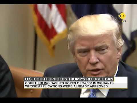 US Supreme Court upholds Trump's refugee ban