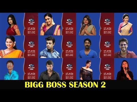 BIGGBOSS 2 Celebrities