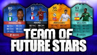 Fifa 16 Team of Young Future Stars With Massive Potential Ultimate Team