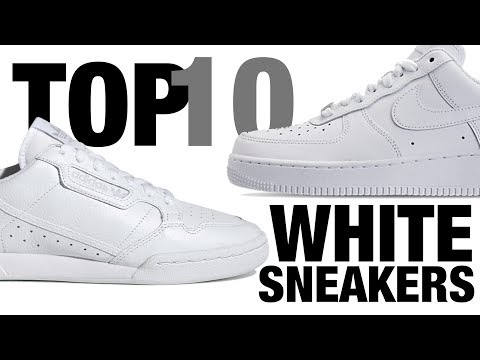 TOP 10 Best White Sneakers For Summer 2019