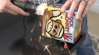 We cut a Jack in the Box IN HALF!! So interesting to see how this simple toy works!! Watch our other Toy videos here: ...