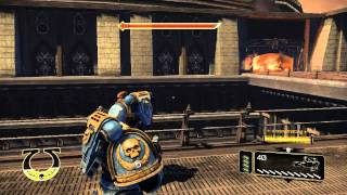 Warhammer 40k Space Marine PC Gameplay