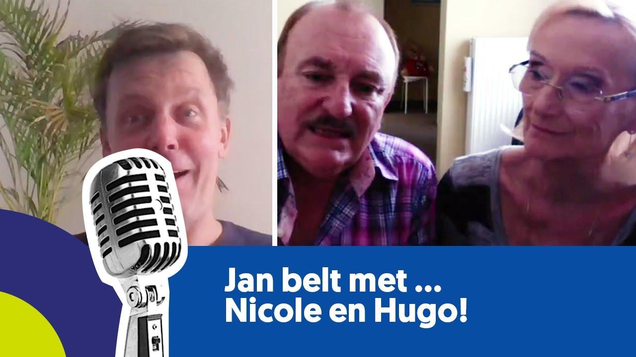 Jan belt met ... Nicole & Hugo