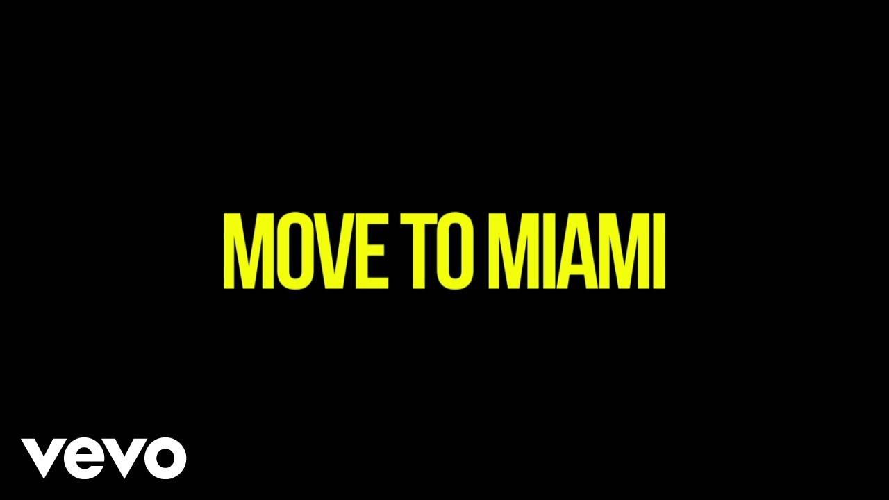 Enrique Iglesias - MOVE TO MIAMI (Darell Version (Lyric Video)) ft. Pitbull