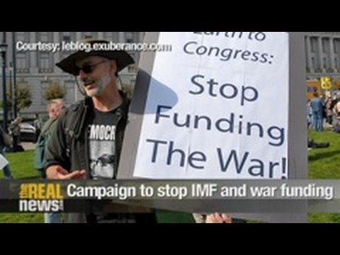 Campaign to stop IMF and war funding