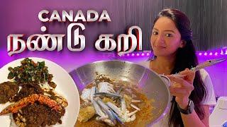 Canada Tamil Crab Curry  Canada Ponnu  Jaffna Style  Tamil Dude