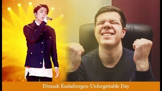REACTS to DIMASH-Unforgettable Day