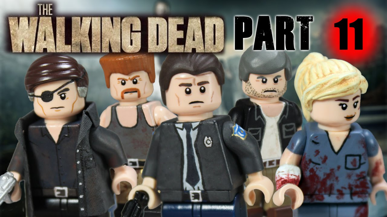Walking dead lego daryl the walking - Custom Lego The Walking Dead Minifigures Part 11