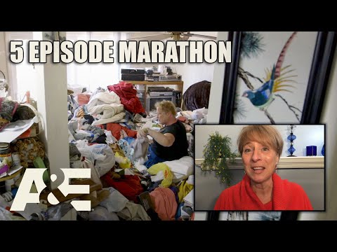 Hoarders Top Episodes MARATHON - Binge Them w/ Dorothy the Organizer! Part 2 | A&E