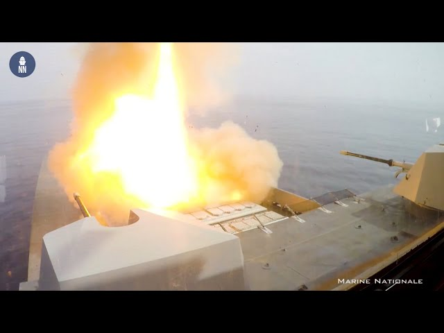 French Navy Demonstrates Cooperative Engagement with Destroyer Forbin and Frigate Languedoc