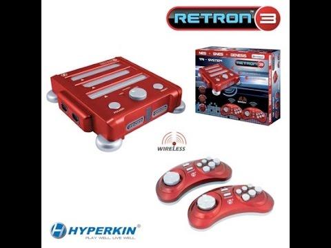 Retron 3 - Análise + Testes Game Genie + Everdrive + joysticks+ gameplays
