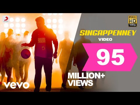 Bigil - Singappenney Video   Thalapathy Vijay, Nayanthara   A.R Rahman