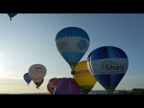 Bristol Balloon Fiesta 2019 - Press Launch (Filton Airfield)