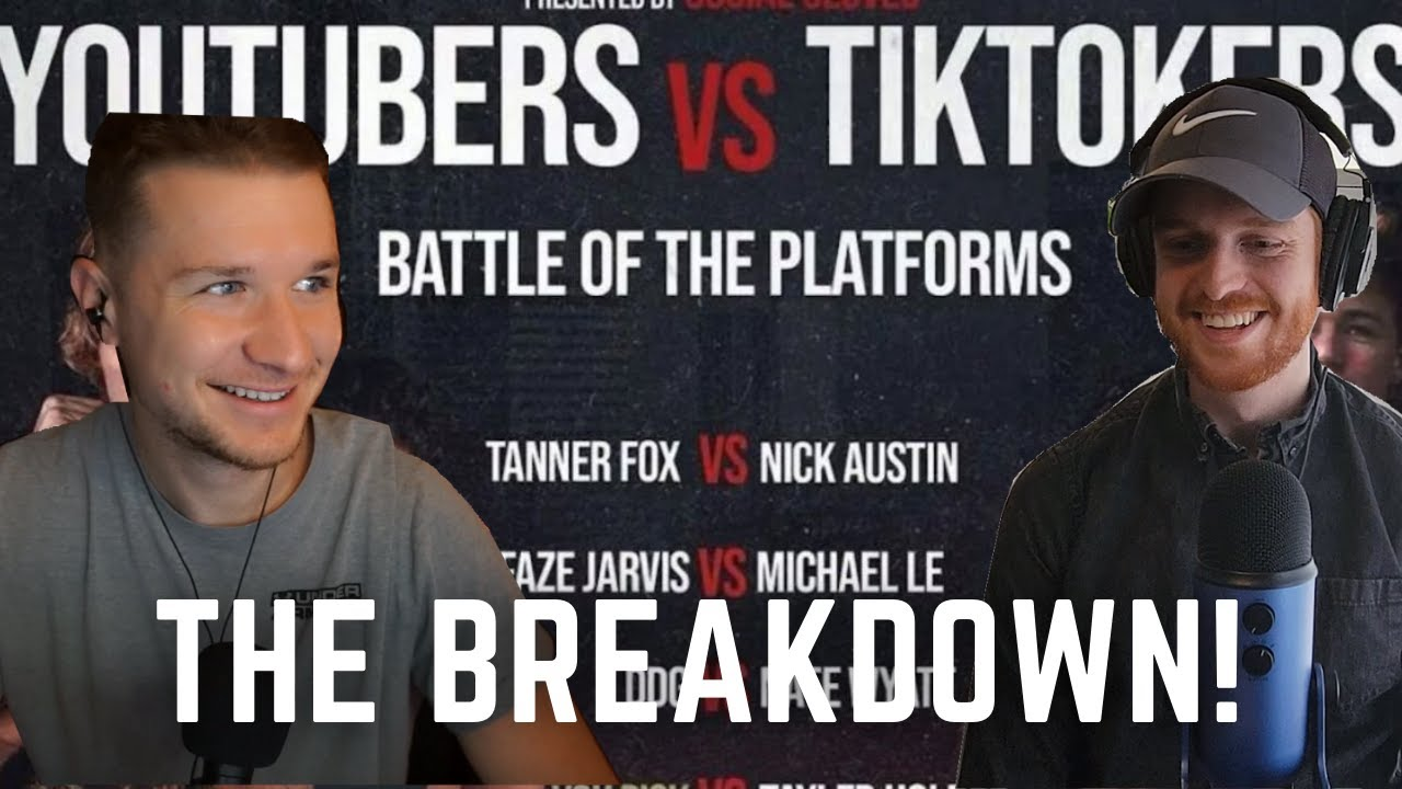 Tik Tok vs Youtube Boxing Event Predictions & Breakdown | RoundHouse Radio ft. The W.A.D.E Concept!