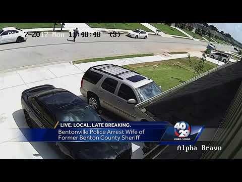 Former Benton County sheriff's wife arrested