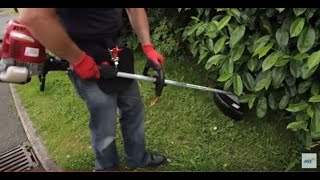 How to use a petrol brush cutter strimmer | HSS Hire