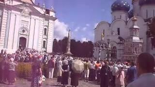 Троице Сергиева Лавра(Праздничная служба в Троице Сергиевой Лавре., 2014-01-13T12:36:43.000Z)
