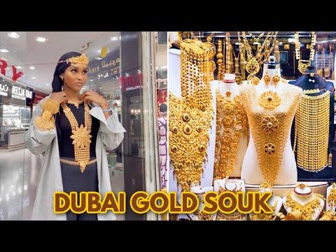 DUBAI Gold Souk VLOG 2021