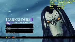 Darksiders 2: Deathinitive Edition | GTX 1070 | Max Settings 4K | No AA
