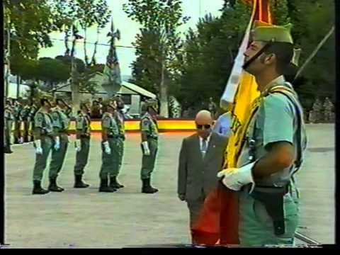 LA LEGION,TERCIO ALEJANDRO FARNESIO JURA BANDERA 3º/97 ...