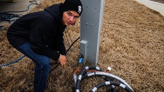 DIY - RV Water Hose FREEZE PROTECTION
