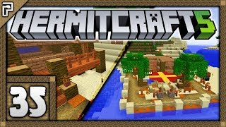 🐚 Hermitcraft 5 | Let's Play Minecraft Survival | Sneaky New Neighbours! The Island Project! [#35]