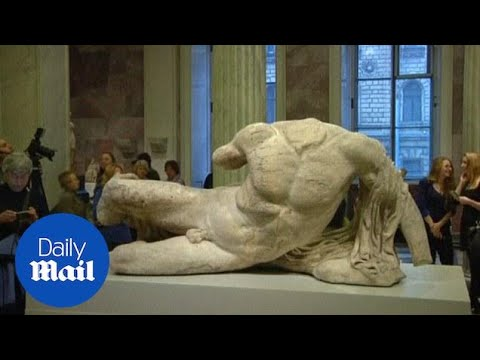 Greek Parthenon marbles on display in Russian museum - Daily Mail