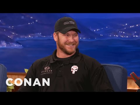 """American Sniper"" Chris Kyle Interview  - CONAN on TBS"