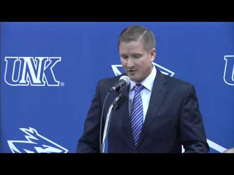 Full Press Conference: UNK introduces Josh Lynn as new head football coach