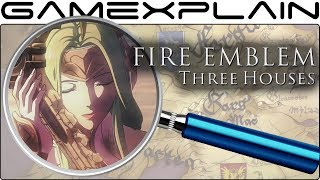 Fire Emblem: Three Houses ANALYSIS - Reveal Trailer (Secrets & Hidden Details)