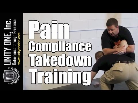 How To Become a Security Guard - Pain Compliance Takedown Security Guard Training