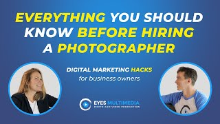 Everything you should know before hiring a photographer