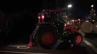 Huge crowds turned out for Christmas tractor run in Abbeyshrule