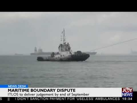 Maritime Boundary Dispute- News Desk on Joy News (20-9-17)