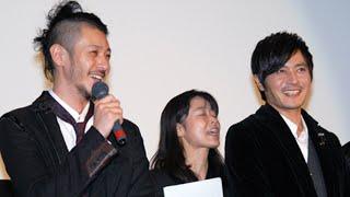 12月19日新宿バルト9で、『マイウェイ 12000キロの真実』の完成披露舞...