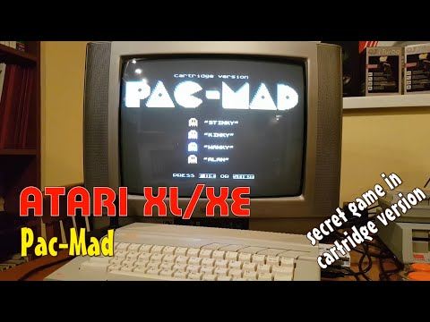 Atari XL/XE -=Pac-Mad=- secret game