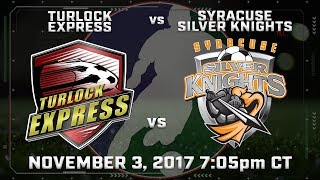 Turlock Express vs Syracuse Silver Knights