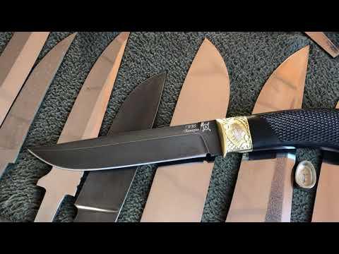 Нож новинка «Дуэлянт» обзор авторского ножа.
