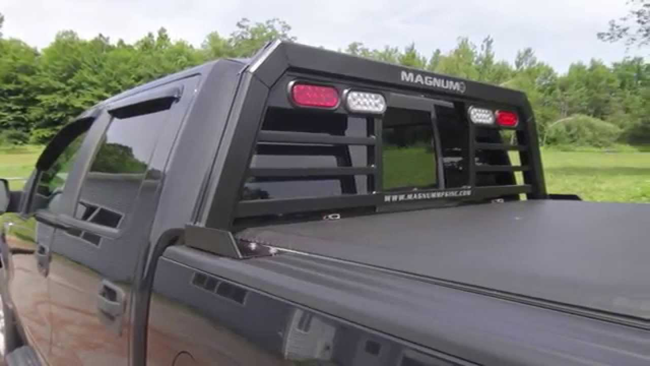 Magnum Truck Rack Installation With A Tonneau Cover Youtube