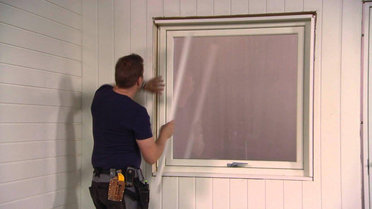 Hvordan måle dørkarm