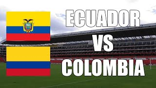 Ecuador 6-1 Colombia RESULTADO FINAL | Eliminatorias Sudamericanas | 17/11/2020