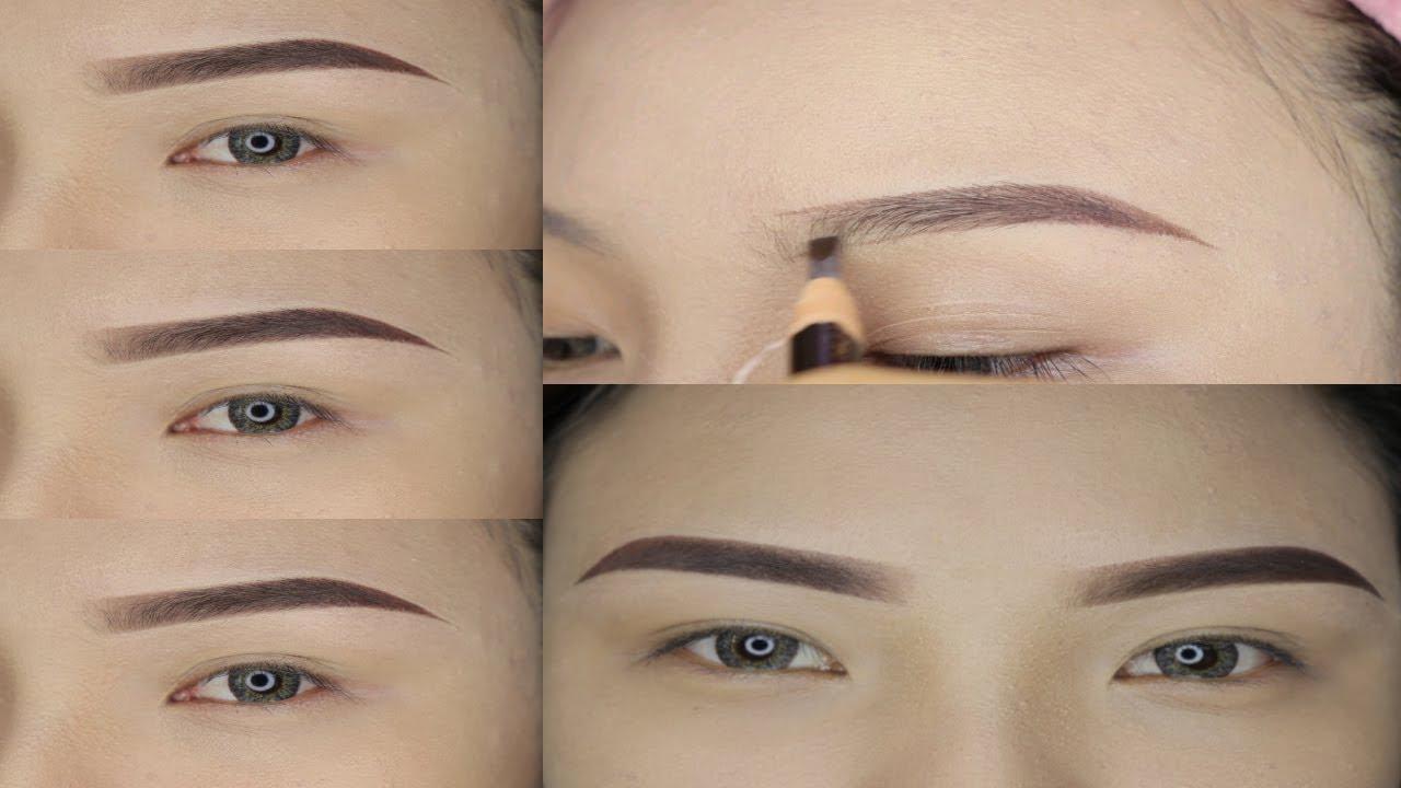 Yen Dao Makeup Artist – Kẻ chân mày sắc nét từng milimet