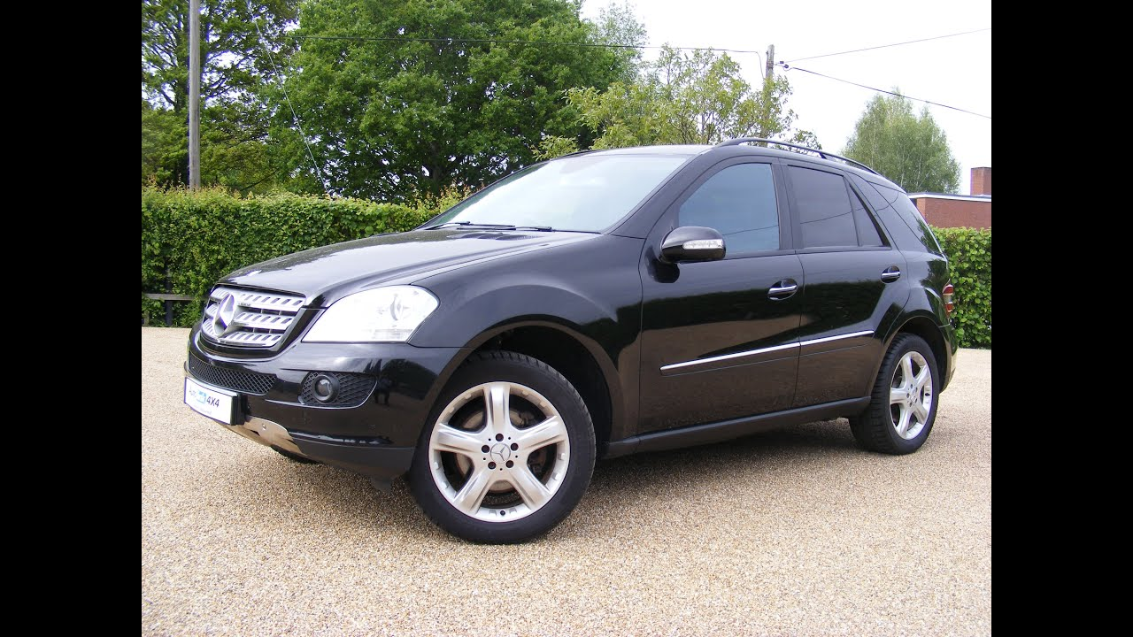 2006 mercedes ml 280 cdi sport auto for sale in kent youtube. Black Bedroom Furniture Sets. Home Design Ideas