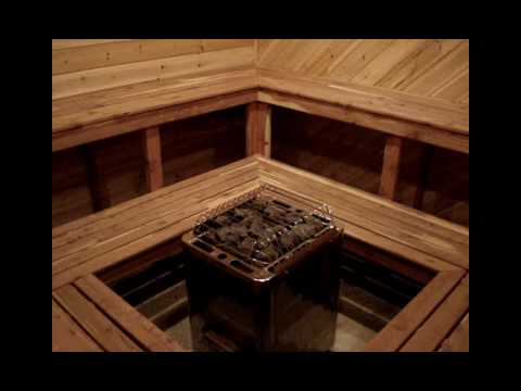 How to build a homemade sauna homemade ftempo for Make your own sauna at home