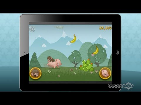 Baby Monkey: Going Backwards on a Pig (iOS)