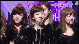 110120 SNSD (all stages) - 20th Seoul Music Awards [HD]