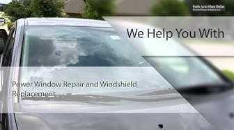 Top-rated Car Glass Replacement in Dallas