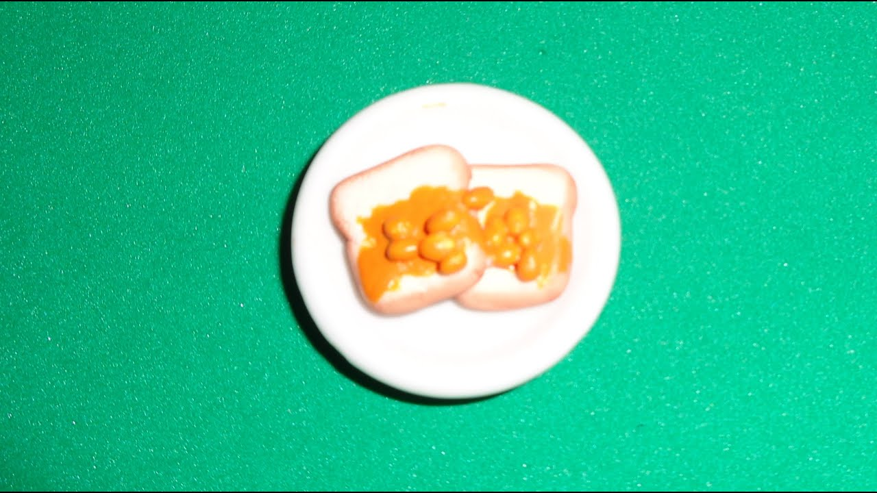 Miniature beans on toast diy lps crafts easy doll crafts miniature beans on toast diy lps crafts easy doll crafts dollhouse accessories ccuart Choice Image