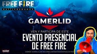 FREE FIRE EVENTO PRESENCIAL  - JUGANDO CON SUSCRIPTORES